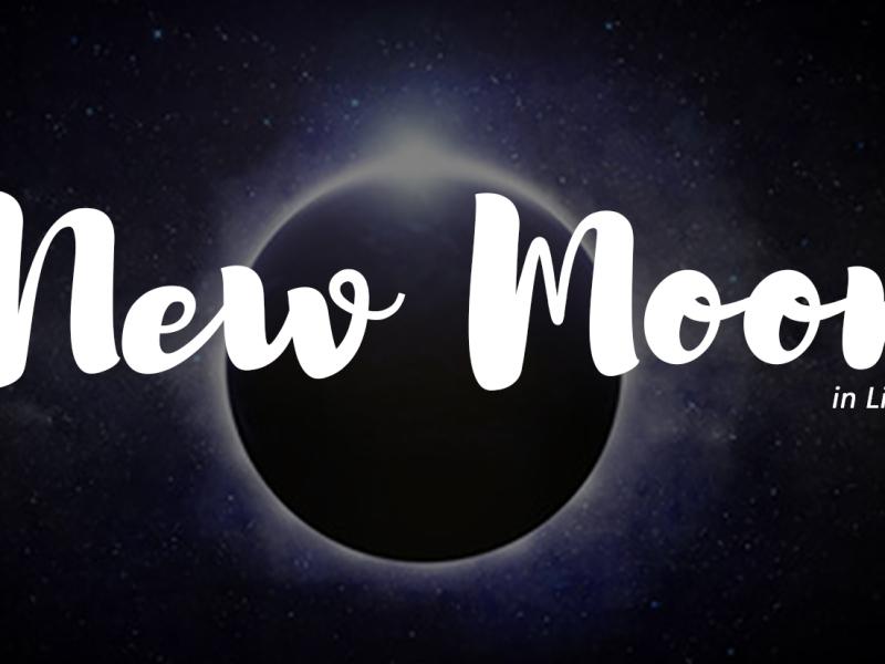 New Moon in Libra, September 28th, 2019