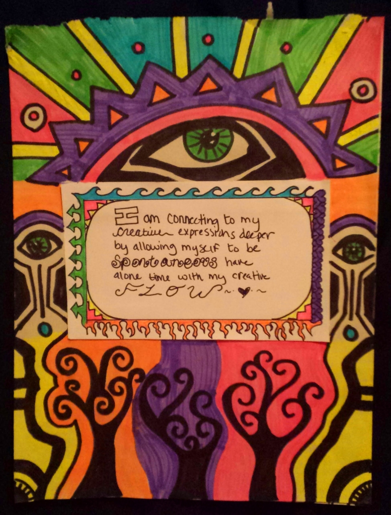 My Affirmation | Derived from Laura Hollick's  {nu Icon Movie} Crystallize Your Iconic Essence Desire  February 2015